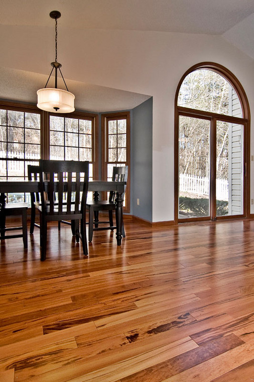 Barnhart, MO | Tigerwood Hardwood floor*