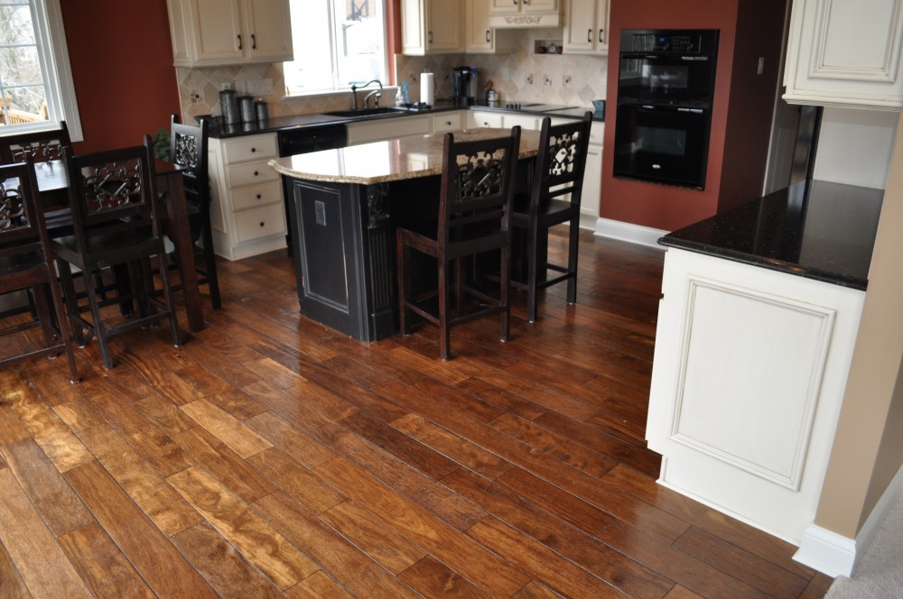 Hand Scraped Brazilian Hardwood ~ Chesterfield, MO